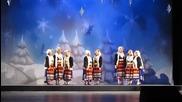 Фолклорен танцов театър Найден Киров - Коледен концерт 2014