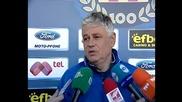 Стоев дава почивка на някои играчи за мача със Славия