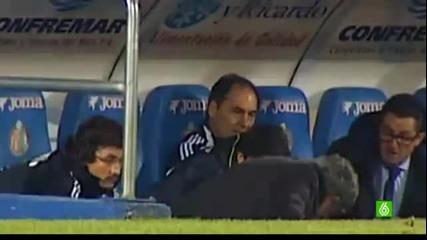 Моуриньо едва не се преби по време на мача с Хетафе
