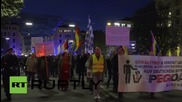 Germany: PEGIDA protest in Munich met by Antifa counter-demo