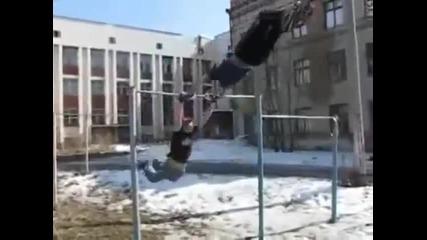 Така става като се правиш на гъзе