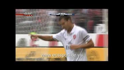 29.07 Хановер - Арсенал 0:1 Сеск Фабрегас гол