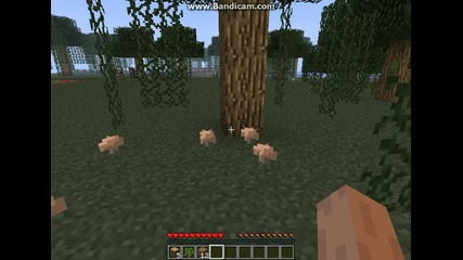 Minecraft Singleplayer Survivor S1e1 Много кратък