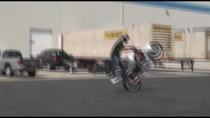 За Мото Лудаците: Tim Naasz Addicted Rider Stunts Teaser
