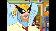 Harvey Birdman Attorney at Law 3.03 - X Gets The Crest