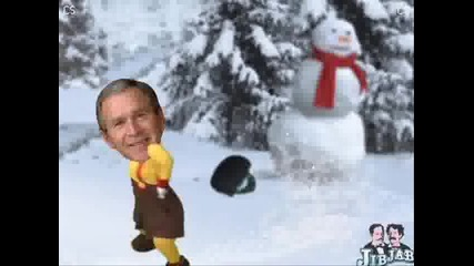Бой със снежни топки !
