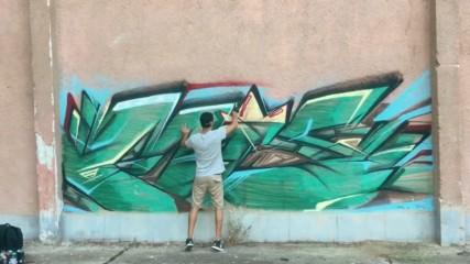 Добрич графити бандити