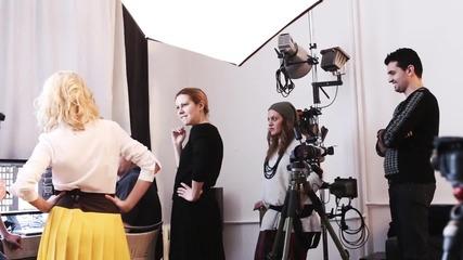 Алекс Сърчаджиева пред EVA backstage - бр. 196 (март 2015)