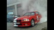 Bmw M3 E36 burnout