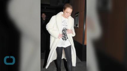 Did Lindsay Lohan Just Free the Nipple?