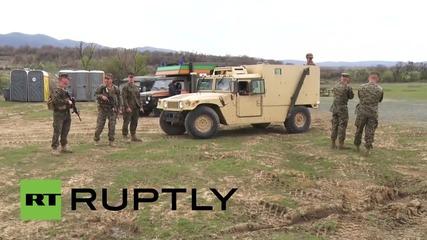 Bulgaria: See joint US-Bulgarian military drills