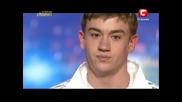 16 годишно момче изпълни песен посветена на неговият дядо! Украйна търси талант! 17.03.2013