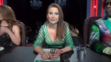 Dancing Stars - Илиана Раева зад кадър - 18.03.2014 г.