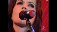 Dolores o' Riordan (the Cranberries) - ordinary day (at festivalbar 19-6-2007) (hq)
