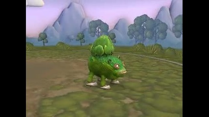 My Spore Creations - Bulbasaur