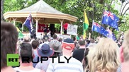 Australia: Anti-Islamic nationalists rally against construction of mosque in Bendigo