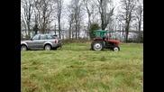 Трактор срещу Рейндж Роувър