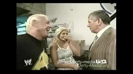 Torrie, Vince & Ric Flair