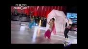 15.11.2009 Vip Dance Райна изби рибата с изпълнение на Ориенталски танц