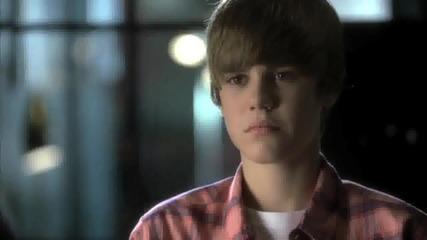 Justin Bieber на от местопрестъплението