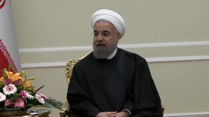 Iran: Russian DM Shoigu and Rouhani meet in Tehran