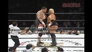 Akebono & Owashi Toru vs Sumo Rikishi & Jonny Dan - Japan Wrestling