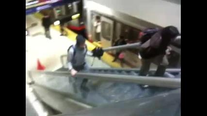 Река в метрото