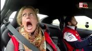 Реакция на жена при возене в Nissan Gt- R Nismo !