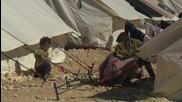 Дрон засне бежански лагер на границата с Турция