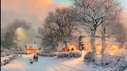 Шаро и първият сняг (тихо се сипе първият сянг)
