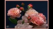 цветя и нежна музика