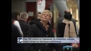 Над 160 полета в Германия са отменени заради нов протест на летищни работни