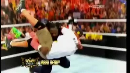 Wwe Raw Slamy Awslerd 2013 Part 1