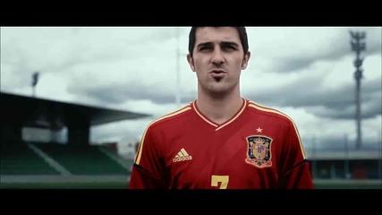 Фланелката на Испания за Евро 2012 - Миналото няма значение. Всичко започва отново.