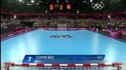 Олимпийски игри 2012 - Хандбал Жени Швеция - Южна Корея група В