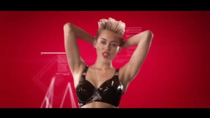 Премиера » Will.i.am ft. Miley Cyrus and Wiz Khalifa - Feelin' Myself   Официално Видео