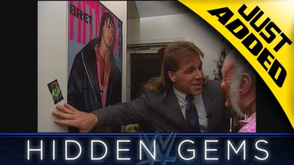 "Shawn Michaels visits Bret Hart's ""mom"" during surprise visit in rare WWE Hidden Gem (WWE Network Exclusive)"