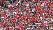 ВИДЕО: 65 хиляди приветстваха Байерн