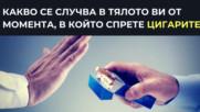 Какво се случва в тялото ви от момента, в който спрете цигарите