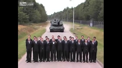 Ужасяващ Танков тест за спирачки