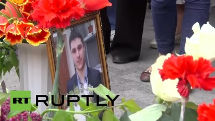 Ukraine: Kiev supporters gather to mourn Odessa on anniversary of fire