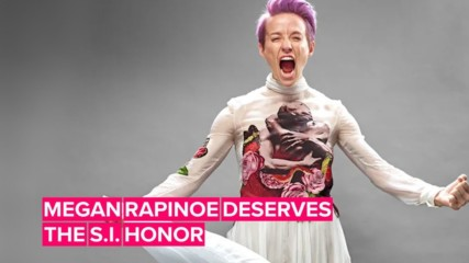 Why Megan Rapinoe seriously deserves Sportsperson of the Year