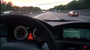 Какво е чувството да се возиш с 330 км. с м5