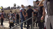 East Jerusalem: Tensions mount between Israeli police and Palestinian protesters