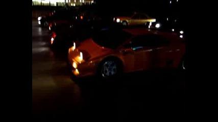 Lamborghini Diablo Vs. Ferrari 355 Spider