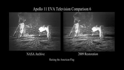 Американският флах на Луната