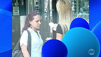 Смешна Скрита Камера - Demonstrao de Creme ras Escondidas