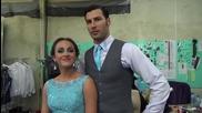 """Dancing Stars - Мариан и Михаела за """" Седмицата на любовта """" 25.03.2014г"""