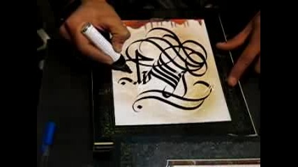 Cool Handstyle Tag