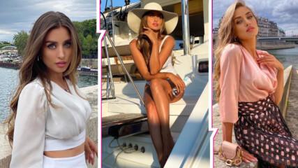 Красива и нежна: Саня Борисова като момиче на Бонд